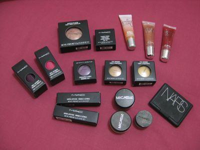 Loads of Makeup!!!