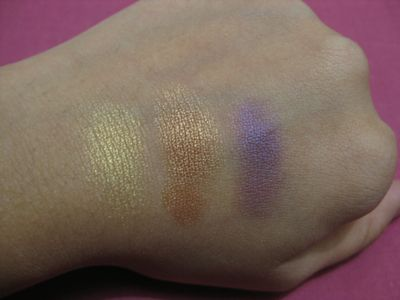 Swatched: Goldmine, Amber Lights and Nocturnelle